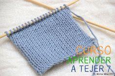 labor, con aguja, con dos, aprend, ganchillo, calceta, dos agujas punto jersey, como tejer, medium
