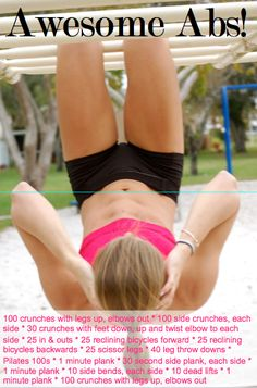 Another Ab Workout!