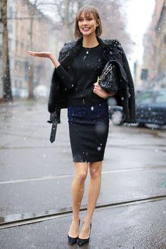 Karlie Kloss   Model Off Duty   street style
