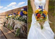 country wedding bouquets | Colorado Rustic Wedding - Rustic Wedding Chic