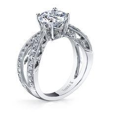 Are you a fan of   Vintage Inspired designs?   #Diamond #Wedding #VannaK #JewelryExchangeCo #SanFrancisco #Bridal #Jewelry #Engagement
