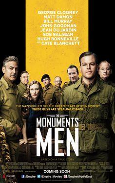 2014 movi, cinema 2014, men 2014, film 2014, film posters, monument men, unlimit film