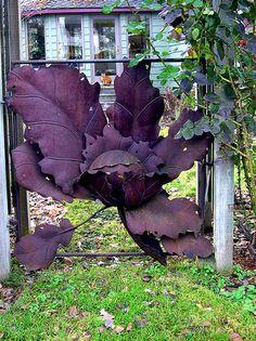 Creative garden gate
