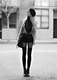 Love Thigh Highs and Shorts