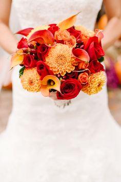 fall wedding bouquet- minus the calla lilies I like it.