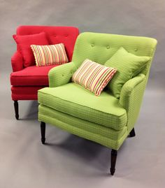 Bedroom chairs uphol