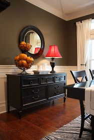 Put wainscoting on dining room