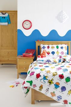 Mr Men - Kids' Bedroom Ideas - Childrens Room, Furniture, Decorating (houseandgarden.co.uk)
