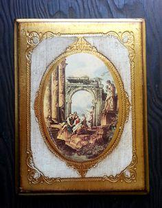 Beautiful Vintage Italian Gold Florentine
