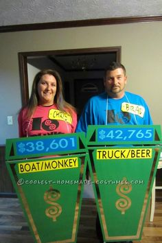 Original Homemade Price Is Right Costume... This website is the Pinterest of costumes