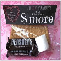 S'mores | 21 Totally Adorable Homemade Valentines To Make With Kids