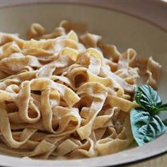 You must see how this is done | Recipe of the Day: Homemade Whole Wheat Pasta by Gina