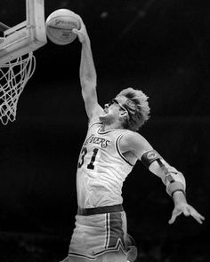 Hardest working man in basketball in the 80's.  Kurt Rambis.