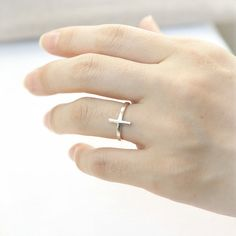 Sideways cross ring !!