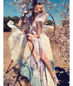 Blumarine Spring/Summer 2013 campaign Anna Selezneva Camilla Akrans