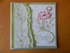Dianne's cards--Simply Sketched and Sincere Salutations