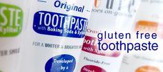 Cleure's Gluten Free Toothpaste