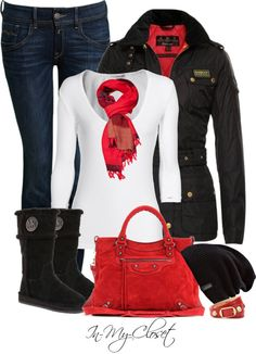 """Winter Wear #28"" by in-my-closet on Polyvore"