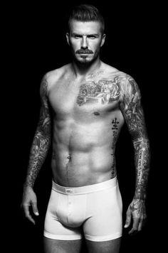 David Beckham - H & M underwear range