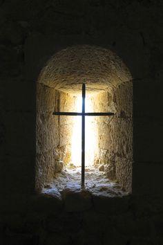 Church window detail, Provence
