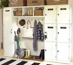 potterybarn, mudroom, potteri barn, famili locker, garag, mud rooms, pottery barn, lockers, entryway
