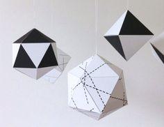 DIY Paper Christmas Ornaments