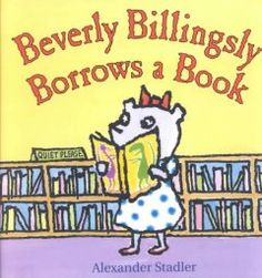 April 28, 2014. Beverly is thrilled to finally check out a book with her own library card, but when she accidentally keeps the book too long she worries that she'll have to pay a huge fine or go to jail.