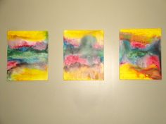 Abstract Painting by CustomizePaintForYou on Etsy, $70.00