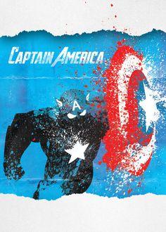 Cpt. America   Avenger Poster