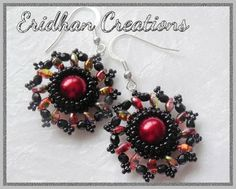 beaded superduo earrings tutorial