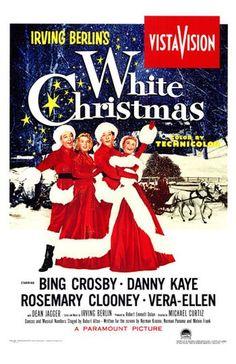 "filmed in 1953 - released in 1954 - all songs written by Irving Berlin. Starring Bing Crosby (as Robert ""Bob"" wallace), Danny Kaye (as Phil Davis), Vera-Ellen (as Judy Haynes) & Rosemary Clooney (as Betty Haynes)"