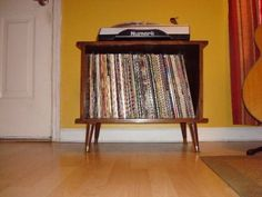 Stegosaurus Record Cabinet. If you don't have a colossal amount of LPs, this would be perfect. $350