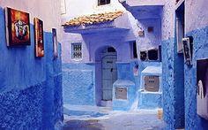 A neighborhood in Tunisia