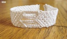 How to DIY Two Ring Closure Macrame Belt