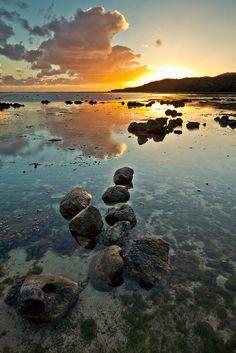 fiji sunrise