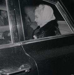 Marilyn Monroe in New York, 1960.