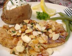 fish recip, seafood, favorit recip, trout almondine, yummi