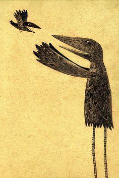 Chuck Groenink ~ Big and Little Crow, 2009