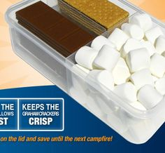 great for keeping smores handy