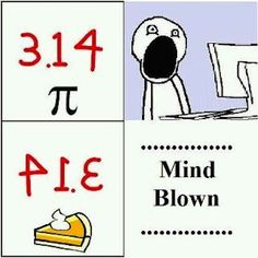 What!? It's Pi Day