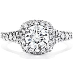 My ring!!!! <3  Acclaim Hearts on Fire Engagement Ring