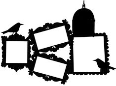 FREE cut file: birdframes #silhouette #cameo
