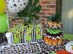 Jungle Theme #party #theme