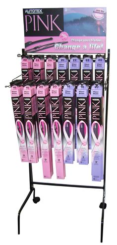 AutoTexPink wiper blades #Pink #Cars #Accessories
