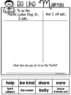 Dr. King for Little Learners-- really like this.