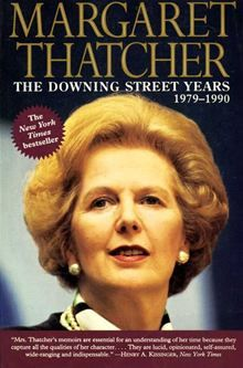 'The Downing Street Years' (2012) by Margaret Thatcher.  This first volume of Margaret Thatcher's memoirs encompasses the whole of her time as Prime Minister - the formation of her goals in the early 1980s, the Falklands, the General Election victories of 1983 and 1987 and, eventually, the circumstances of her fall from political power. She also gives frank accounts of her dealings with foreign statesmen and her own ministers.