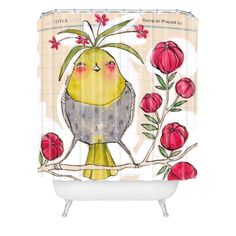 Cori Dantini Sweetness And Light Shower Curtain | DENY Designs Home Accessories