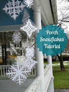 Porch Snowflakes Tut