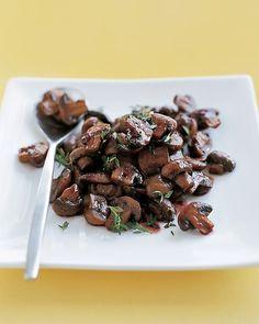 Martha Stewart's Mushroom Recipes