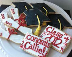 2012 Graduation cookies